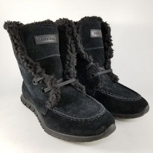 Cole Haan Women's ZeroGrand Shearling Chukka Boot